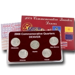2008 Quarter Mania Uncirculated Set - Denver Mint