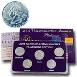 2008 Quarter Mania Uncirculated Set - Platinum D Mint