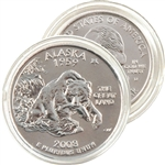 2008 Alaska Uncirculated Qtr - Denver Mint
