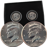 2008 Kennedy Half Dollar P & D Set - Uncirculated - PB3 Box