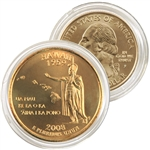 2008 Hawaii 24 Karat Gold quarter - Philadelphia