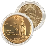 2008 Hawaii 24 Karat Gold quarter - Denver
