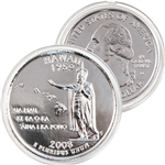 2008 Hawaii Platinum Quarter - Denver Mint
