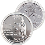 2008 Hawaii Platinum Quarter - Philadelphia Mint