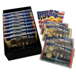2008 Presidential Mania  Uncirculated - Gold - Platinum (12 sets)