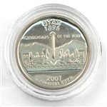 2007 Utah Proof Quarter - San Francisco Mint