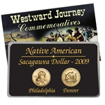 2009 Sacagawea Native American Dollar Lens Set (P & D) - Uncirculated