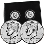 2009 Kennedy Half Dollar P & D Set - Uncirculated - PB3 Box