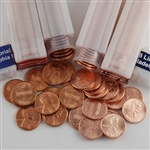 First & Last (1959 & 2008) Lincoln Cent P & D Rolls - Uncirculated