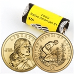 2009 Sacagawea Native American Dollar Government Roll - Denver Mint