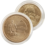 2009 District of Columbia 24 Karat Gold quarter - Philadelphia