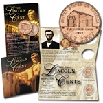 2009 Lincoln Cent Bicentennial Birth & Early Childhood (Log Cabin) - P/D Set