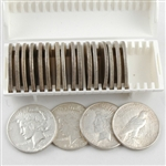 Peace Dollar Roll of 20  - Uncirculated