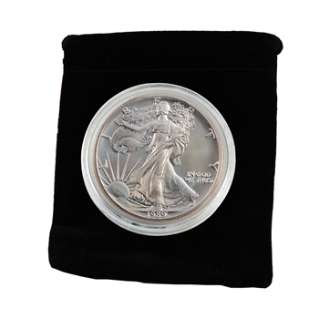 1989 Silver Eagle - Uncirculated