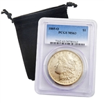 1885 Morgan Dollar - New Orleans - Certified 63