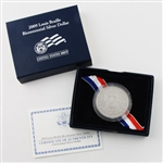 2009 Louis Braille Silver Dollar - Unc