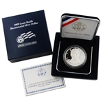 2009 Louis Braille Silver Dollar - Proof