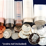 Coin Tube Assortment Pack - 10 of each - Quantity 50