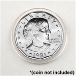 Coin Capsule - SBA - Dollar - 26.5 mm - Qty 25