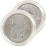2009 Guam Quarter - Denver - Uncirculated