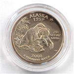 2008 Alaska Proof Quarter - San Francisco Mint