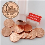 2009 Lincoln Cent - Professional Life in Illinois - Denver Mint Roll