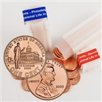 2009 Lincoln Cent - Professional Life in Illinois - P/D Rolls