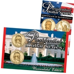 2009 Presidential Dollars P & D Lens - James Knox Polk