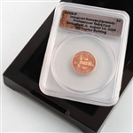 2009 Lincoln Cent - Professional Life in Illinois - Certified - Release Ceremony