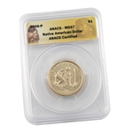 2009 Native American  Dollar - Philadelphia - ANACS 67