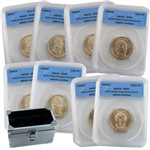 2009 US Mint Set Presidential Dollars ( 8 pc ) - Cert SP69