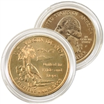 2009 Virgin Islands 24 Karat Gold quarter - Philadelphia