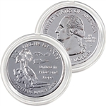 2009 Virgin Islands Platinum Quarter - Denver Mint