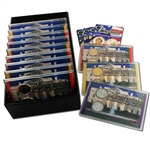 2009 Presidential Mania   Uncirculated - Gold - Platinum (12 sets)