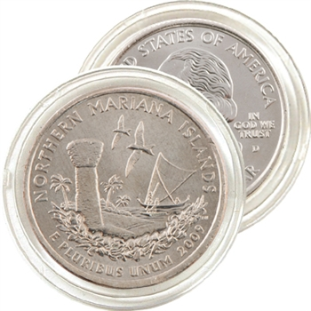 2009 Mariana Islands Uncirculated Qtr - Denver Mint