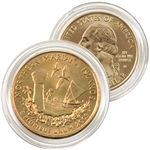 2009 Mariana Islands 24 Karat Gold quarter - Denver