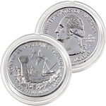 2009 Mariana Islands Platinum Quarter - Denver Mint