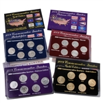2009 Quarter Mania Uncirculated Set - Ultimate (6 Sets)