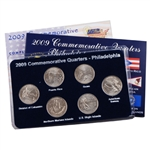 2009 Quarter Mania Uncirculated Set - Philadelphia Mint