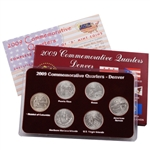 2009 Quarter Mania Uncirculated Set - Denver Mint