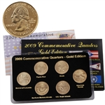 2009 Quarter Mania Uncirculated Set - Gold - P Mint