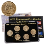 2009 Quarter Mania Uncirculated Set - Gold - D Mint