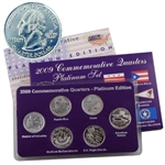 2009 Quarter Mania Uncirculated Set - Platinum - P Mint
