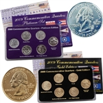 2009 Quarter Mania Precious Metal Set - Gold P / Plat D