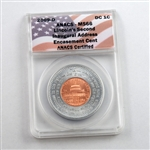 2009 Lincoln Cent - Presidency in Washington - Encasement Cent