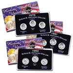 1979 to 81 SBA Uncirculated PDS Sets - 9 Coins