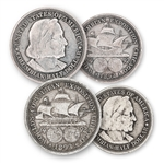1892 & 1893 Columbus Half Dollar Pair - America's 1st Commemoratives