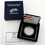 2010 Boy Scouts Commemorative Proof Silver Dollar