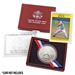 1992 Baseball Silver Dollar - Uncirculated