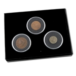 Obsolete Coin Set (2 cent - 3 cent - Large Cent)